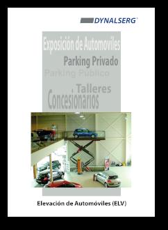"""Portada del Catálogo """"Elevación de automóviles"""""""