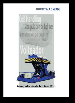 """Portada del Catálogo """"Manipulación de bobinas"""""""